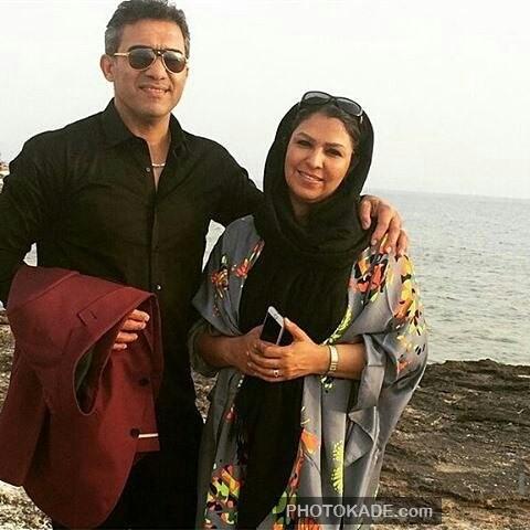 عکس جدید احمد عابدزاده و همسرش