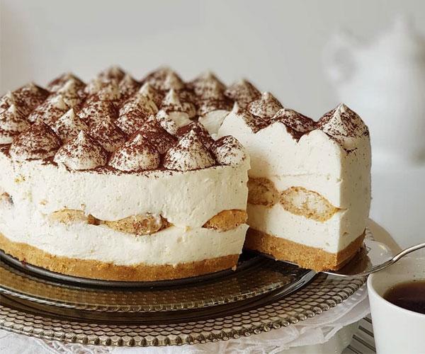 طرز تهیه چیز کیک تیرامیسو یخچالی