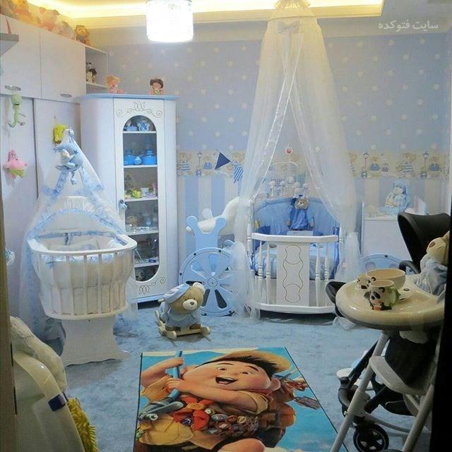 مدل های تزیین دکوراسیون اتاق نوزاد