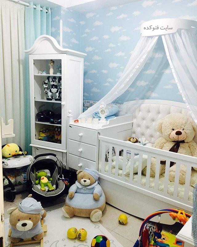 عکس مدل های چیدمان اتاق کودک و نوزاد + تزیین شیک دکور