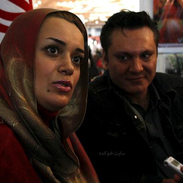 الهام چرخنده و همسرش فرشید نوابی + بیوگرافی