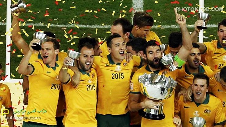 عکس های جشن قهرمانی استرالیا در جام ملتهای آسیا 2015,عکس جشن قهرمانی استرالیا 2015,تصاویر جام قهرمانی ملت های اسیا 2015,عکس استرالیا قهرمان جام ملتهای اسیا,جشن قهرمانی جام ملت های اسیا استرالیا 2015,عکسهای جشن قهرمانی 2015 استرالیا