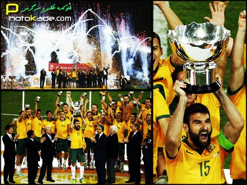 عکس های جشن قهرمانی استرالیا