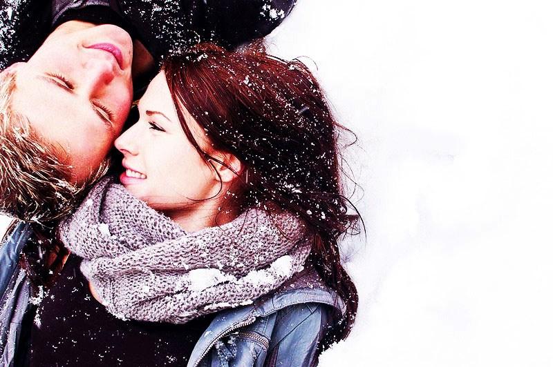 نتیجه تصویری برای عاشقانه زمستان