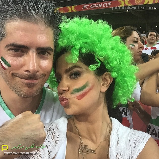 عکس جدید تماشاگران ایرانی فوتبال بازی امارات و ایران,تصاویر تماشاگران بازی ایران و امارات 2015 در استرالیا,عکس خفن تماشاگران ایرانی در بازی امارات 2015,عکس