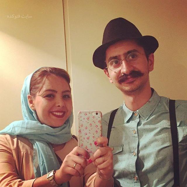 عکسشایان شکرآبی و همسرش غزل مهدوى گروه دال بند