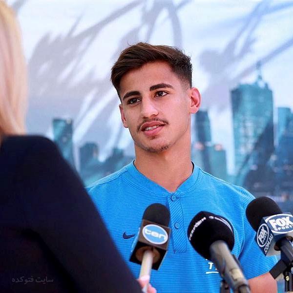 دنیل ارزانی بازیکن فوتبال + بیوگرافی کامل