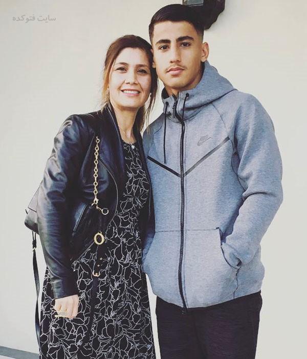 عکس دنیل ارزانی و مادرش سیما + زندگی شخصی