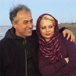 دانیال حکیمی و همسرش زیبا هاشم زاده