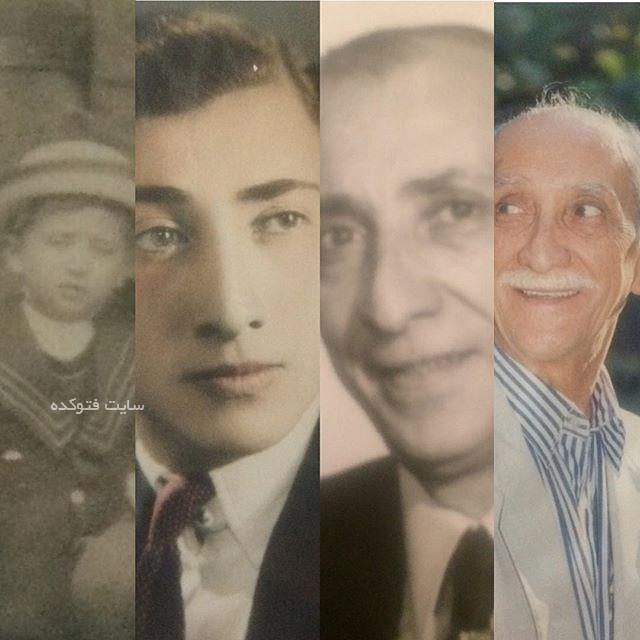 عکس داریوش اسدزاده از کودکی تا جوانی و پیری + زندگینامه کامل