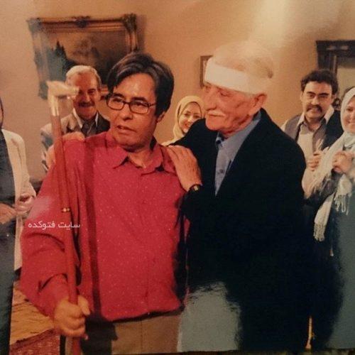 داریوش اسدزاده و خسرو شکیبایی