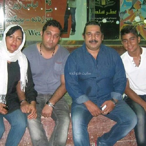 عکس خانوادگی داریوش سلیمی