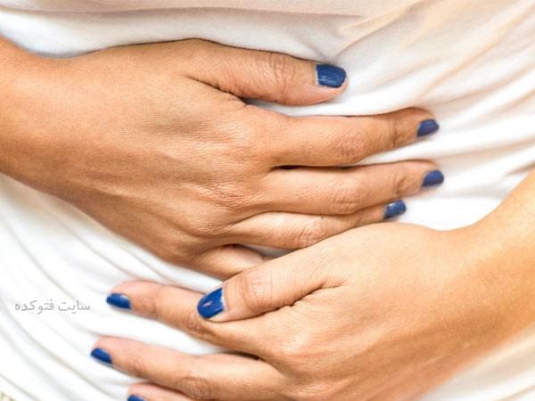 درمان نفخ شکم بعد از غذا