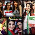 عکس تماشاگران دختر خوشگل ایرانی