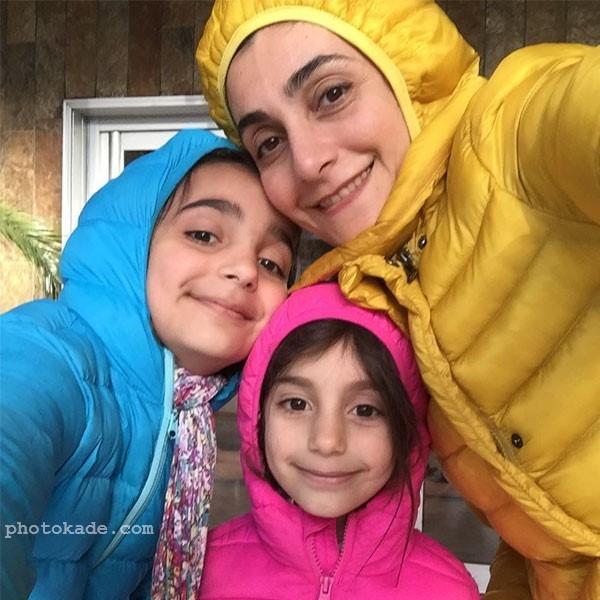 عکس دریا دادور در کنار فرزندانش + بیوگرافی