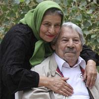 بیوگرافی داوود رشیدی و همسرش احترام برومند + علت فوت