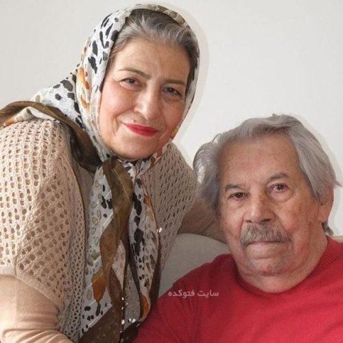 عکس داوود رشیدی و همسرش احترام برومند + بیوگرافی
