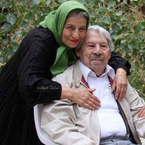بیوگرافی داوود رشیدی و همسرش