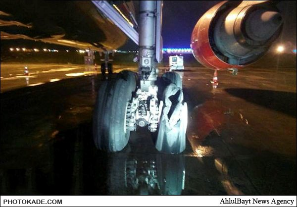 عکسهای حادثه برای هواپیمای ایران در ترکیه,خطر سقوط بیخ گوش هواپیمای ایران,حادثه برای هواپیمای ایرانی در ترکیه,حاده برای هواپیما,خطر سقوط هواپیمای ایران در ترکیه