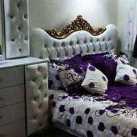 دکوراسیون اتاق خواب دونفره با مدل تخت خواب