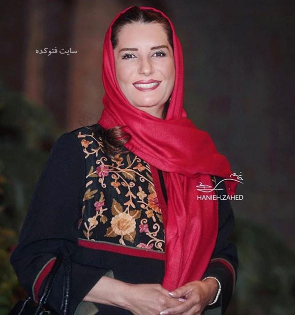 فریبا کوثری در عکس بازیگران سریال دلنوازان