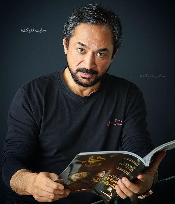 محمد حاتمی در عکس بازیگران سریال دلنوازان