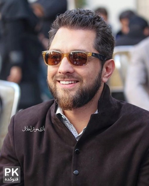 عکس بهرام رادان در مراسم روز درختکاری خانه سینما
