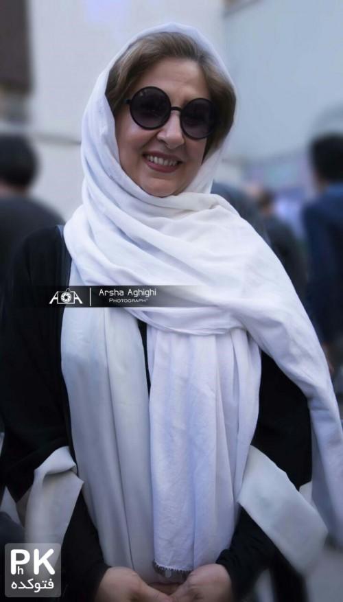 عکس مرجانه گلچین در مراسم روز درختکاری خانه سینما