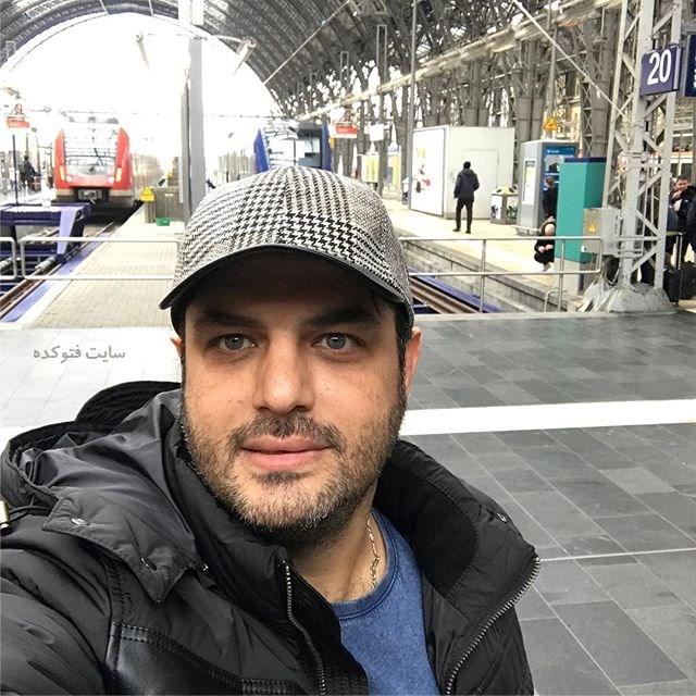 عکس سام درخشانی (بیوگرافی) بازیگر سریال گسل