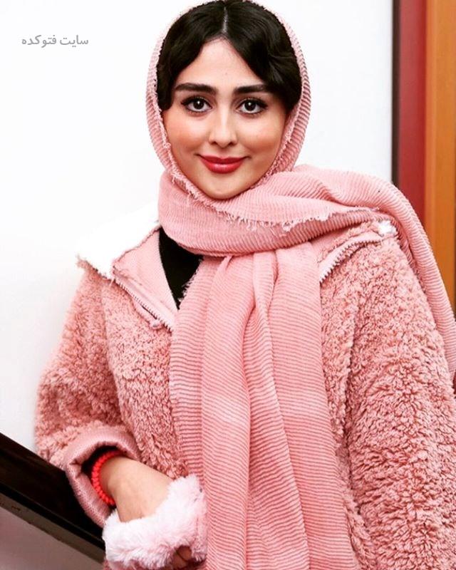 عکس ستاره حسینی بازیگر سریال گسل