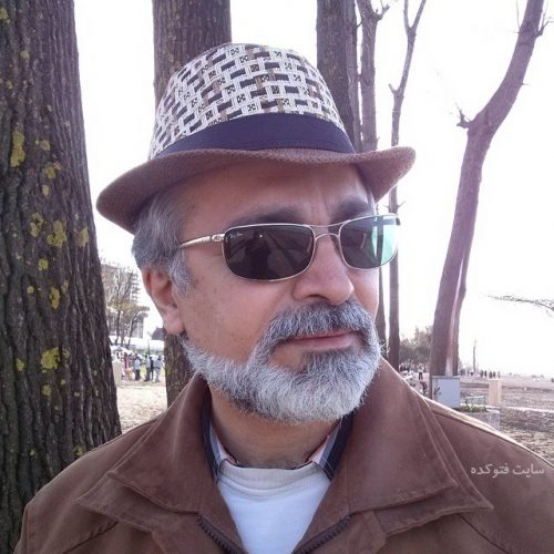 عکس افشین نخعی بازیگر سریال گسل
