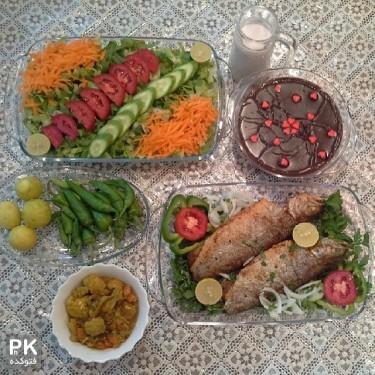 تزیین غذا و سفره آرایی غذای ایرانی