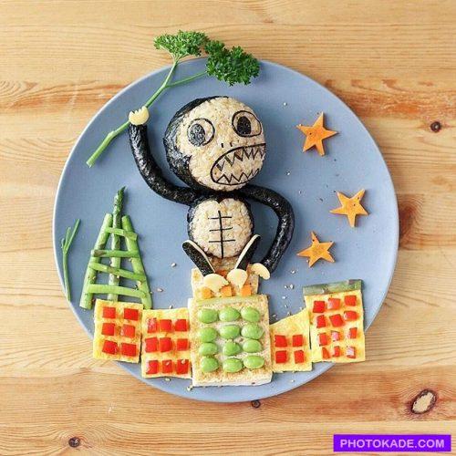 دیزاین بشقاب غذای کودک