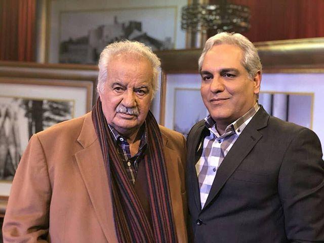 جدیدترین عکس مهران مدیری و ناصر ملک مطیعی دی 96
