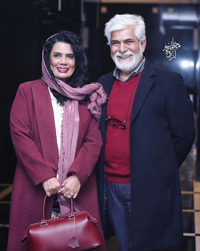 جدیدترین عکس حسین پاکدل و همسرش عاطقه رضوی