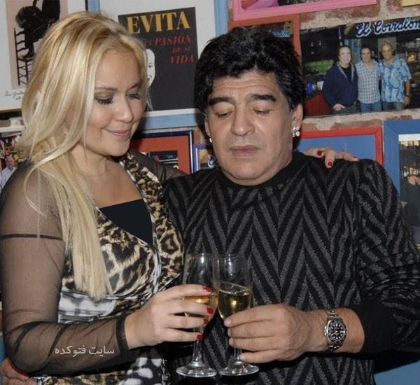 عکس ورونیکا ادوجا همسر دوم مارادونا