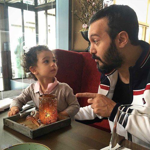 عکس کامبیز دیرباز و دخترش نیاز + زندگینامه کامل