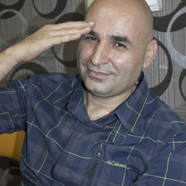 عکس علی مسعودی بازیگر آرماندو