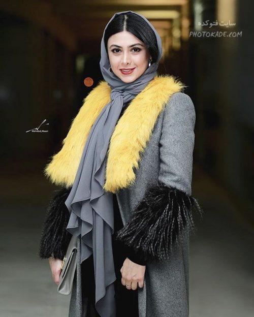 عکس جدید آزاده صمدی بازیگر سریال دیوار به دیوار