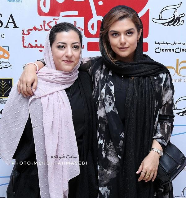 عکس دنیا مدنی Donya Madani و خواهر درنا