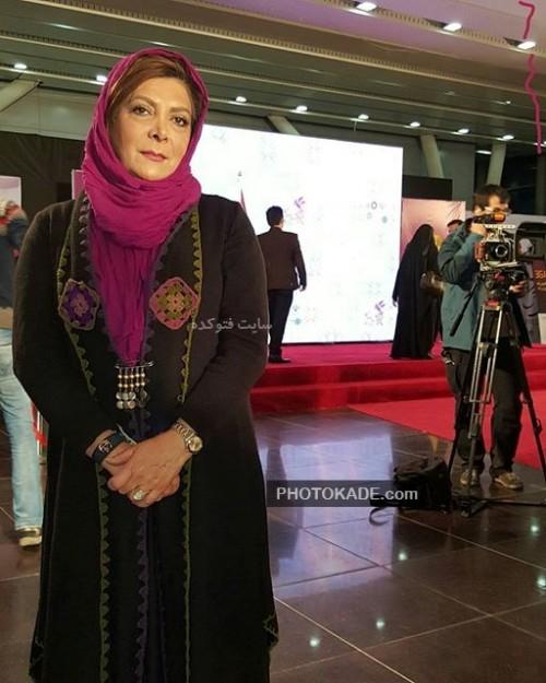 بازیگران سریال دور دست ها : عکس مهوش وقاری