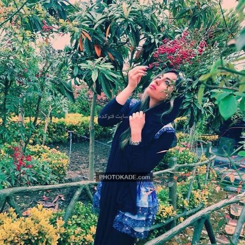 بازیگران سریال دور دست ها : عکس دایانا حکیمی دختر دانیال حکیمی و خواهر دانا حکیمی