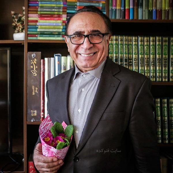 عکس و بیوگرافی دکتر اسماعیل آذر مجری و استاد ادبیات فارسی