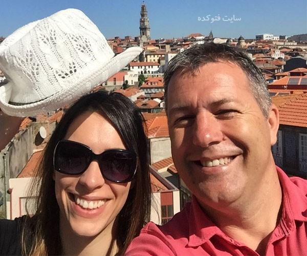 دراگان اسکوچیچ سرمربی فوتبال و همسرش + سوابق