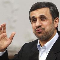 اس ام اس احمدی نژاد به سحر قریشی