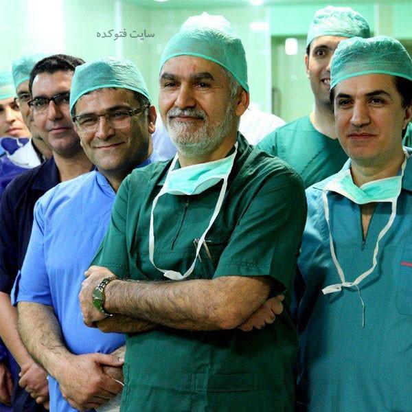 دکتر عبدالجلیل کلانتر هرمزی و همسرش کیست