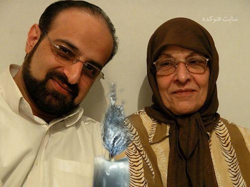 عکس محمد اصفهانی و مادرش + بیوگرافی کامل