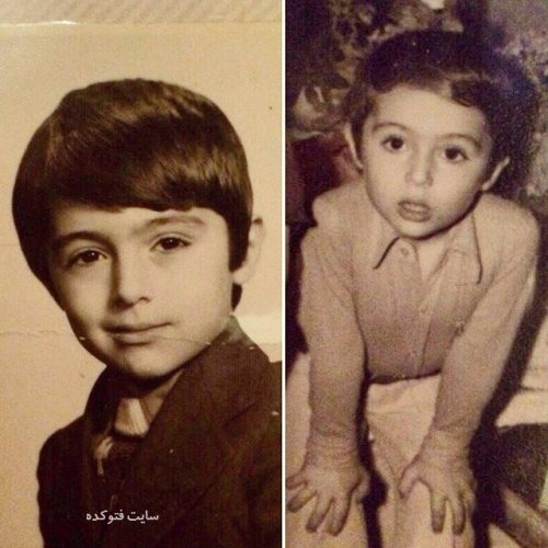 عکس کودک دکتر مسعود صابری + زندگینامه کامل