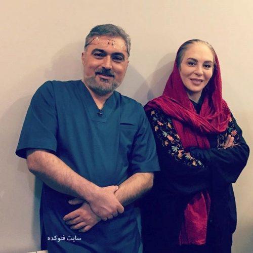 عکس دکتر مسعود صابری و افسانه بایگان + بیوگرافی کامل