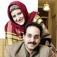 محمد نظری و همسرش شیوا + بیوگرافی کامل